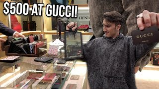 Video WHAT CAN $500 GET YOU AT THE GUCCI STORE?! MP3, 3GP, MP4, WEBM, AVI, FLV Mei 2018