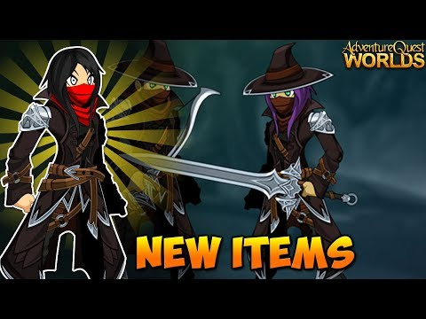 Wretched Rider New Items! AQW AdventureQuest Worlds