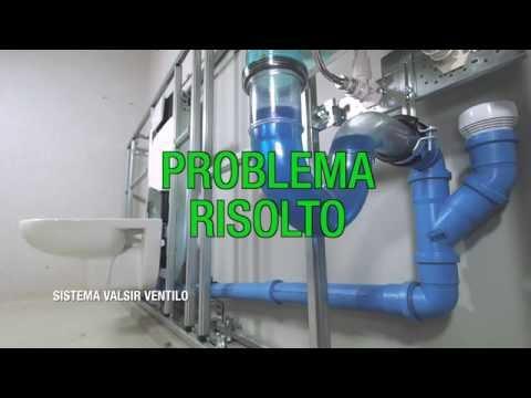 Valsir Ventilo - Risolvi i problemi di ventilazione degli impianti di scarico