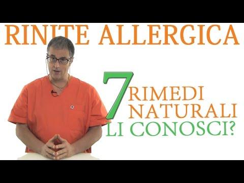 rinite allergica - conosci questi 7 rimedi naturali?