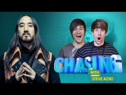 SMOSH'S FORZA HORIZON CHALLENGE Chasing with Steve Aoki #4