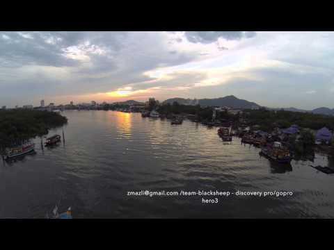 Fishing vessels at Sungai Kuantan