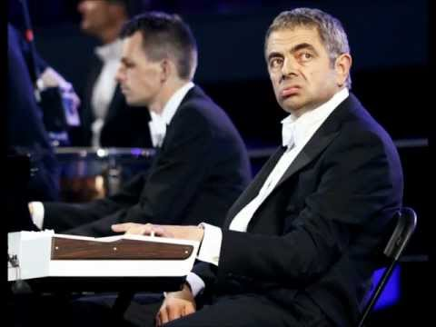 Rowan Atkinson (Mr. Bean) At The London Olympics 2012 [HQ]