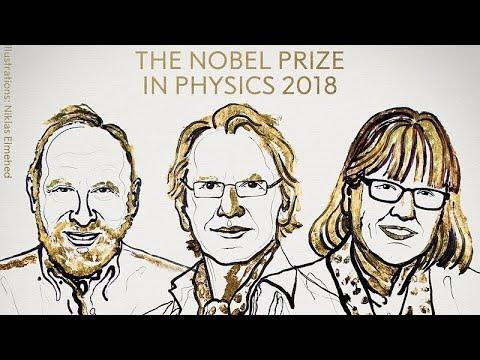 Τρεις πρωτοπόροι της Φυσικής των laser βραβεύθηκαν με το Νόμπελ Φυσικής…