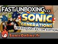 Sonic Generations Limited Collector Edition Short Unbox