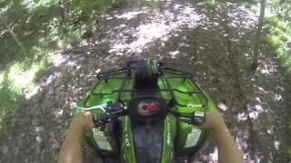 8. Arctic Cat 700 LTD Mud Pro Mudding and having Fun ATV UTV