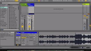 How to warp audio clips in Ableton Live 9