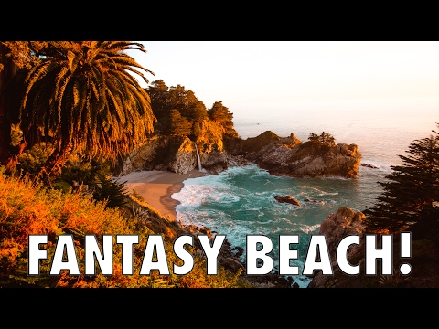 CALIFORNIA'S SECRET FANTASY BEACH