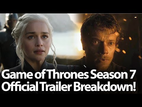 Game of Thrones Season 7 Official Trailer Breakdown. 17 Facts About What will Happen in Season 7