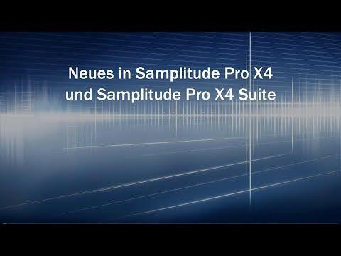 Neues in Samplitude Pro X4 und Samplitude Pro X4 Suite