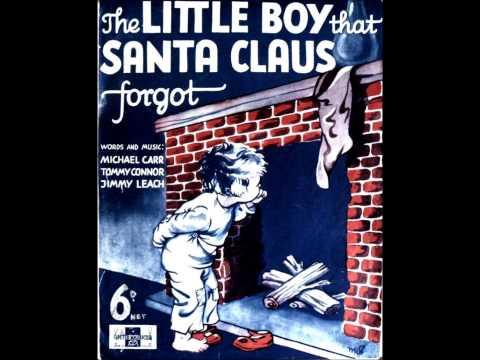 Tekst piosenki Vera Lynn - The Little Boy That Santa Claus Forgot po polsku