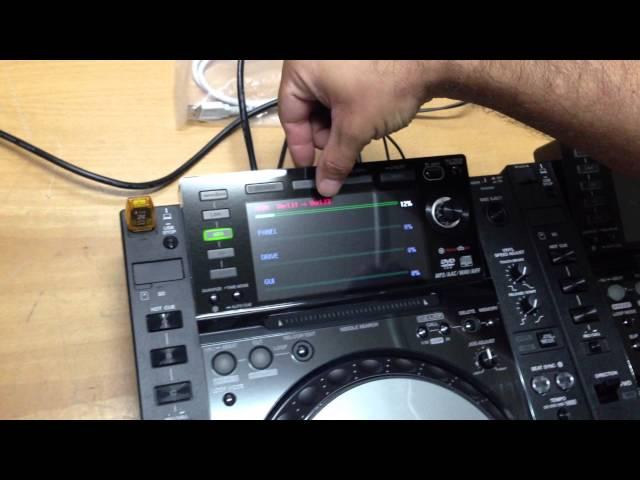 Actualizar Pioneer CDJ2000 nexus