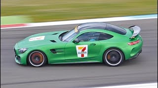 It's very fast, it's green like the Hulk, and it's actually pretty quiet. This video features the all new AMG GT R, the fastest car that AMG is currently producing. As you can see in the vid, the front brake rotors become glowing hot when the green roadster is braking before entering the chicane.--------------------------------------------------------------------------------------------------------------------------------------------------------------------------------------------------------------------------------Car: 2017 Mercedes-Benz AMG GT RColor: Green Hell MagnoEngine: 4.0 L biturbo V8Power output: 585 bhpTorque: 699 nmTransmission: 7-speed semi automaticWeight: 1554 kg (3426 lbs)Top speed: 318 kmh (198 mph)0-100 kmh: 3.6 sec--------------------------------------------------------------------------------------------------------------------------------------------------------------------------------------------------------------------------------*Film locations: TT Circuit Assen (Vredestein Supercar Sunday 2017)The Harbour Club Rotterdam (Sprinting Sophia 2017)--------------------------------------------------------------------------------------------------------------------------------------------------------------------------------------------------------------------------------*Camera:Canon Rebel T3i (600d) + Tamron 18-200mmSony HDR-CX625*Mic:Rode Videomic Rycote--------------------------------------------------------------------------------------------------------------------------------------------------------------------------------------------------------------------------------