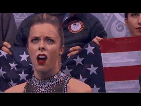 Ashley Wagner 2014 Olympics – Not Impressed