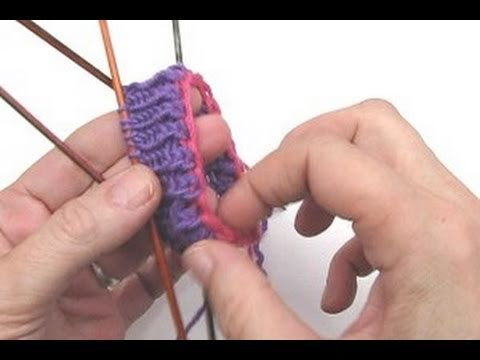 Socken stricken * Sockenkurs #3 * Italienischer Maschenanschlag mit Luftmaschenkette