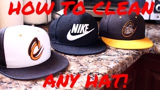 Today Tanner will be showing you how to clean any hat. This method is similar to cleaning shoes and will just require a brush and some laundry detergent!How to clean your shoes-https://www.youtube.com/watch?v=Jn5ph1Ug2XkThanks for watching please like, comment, and subscribe!