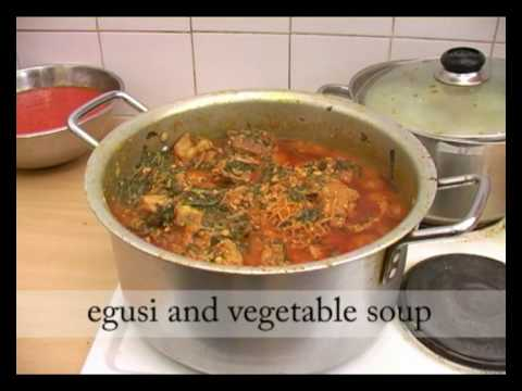How To Make Egusi And Vegetable Soup