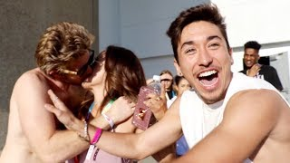 Jason made out with someones mom at vidcon.... right in front of him!! We find out who is dating corinna. Liza plays with a cute baby!!SUBSCRIBE TO BRENNEN: https://www.youtube.com/watch?v=w7OhIJJ2biQBUY THE BRAND NEW MERCH AND TWEET A PIC AT ME WITH IT:https://fanjoy.co/collections/david-dobrik WATCH MY NEW HOUSE TOUR HERE: https://www.youtube.com/watch?v=C4yECzFCdZk&t=26s  GO SUBSCRIBE TO OUR NEW PODCAST: https://itunes.apple.com/us/podcast/views-with-david-dobrik-and-jason-nash/id1236778275?mt=2 Comment how much you love our bunny if you read thisADD ME ON SNAPCHAT TO BE INVITED TO OUR HOUSE NEXT: @DavidDobrikThanks for watching :) Throw it a like if you like throwing stuff!Turn my notifications on these to be the next shoutout!!Twitter: @DavidDobrikInstagram: @DavidDobrikSnapchat: @DavidDobrikVine: @DavidDobrikMusically: @DavidDobrikBusiness email: daviddobrikbusiness@gmail.comOther people in the video:KKandbabyj: https://youtu.be/z3YYRoAqQ0ILiza- Twitter; @lizakoshy Instagram; @lizakoshy Snapchat; @lizakoshysnapsJosh Peck- Instagram: @shuapeck Twitter: @Itsjoshpeck Snapchat: @joshuapeckSeth - @whois_sethJack Dytrych: Twitter: @BigJuicyJack Instagram: jdytrych22Cailee: Twitter/Instagram: @CaileeRaeMusicCorinna- Twitter/Instagram: @CorinnaKopfCody Ko- Twitter/Instagram: @CodyKoJason Nash- Twitter and Instagram; @JasonNashBignik- Twitter: @BigNik Instagram: @RealBigNik Snapchat; @BignikVineHeath- Twitter; @HeathHussar Instagram; @HeathHussar Snapchat; @HeathHussarAlex Ernst- Twitter; @AlexErnst Instagram; @Ernst Snapchat; @AlexErnstThe Gabbie Show- Twitter; @TheGabbieShow Instagram; @TheGabbieShow Snapchat; @TheGabbieShowZane- Twitter; @Zane Instagram; @Zane Snapchat; @ZaneHijaziScottysire- Twitter; @imnotscottysire Instagram; @VanillaDingDongToddysmith- Twitter; @todderic_ Instagram; @todderic_Dom: Twitter/Instagram: @DurteDomLindsey: @lindseygrollJulia Abner- Instagram; @JuliaAbnerCarly incontro- Twitter/Instagram: @CarlyIncontroMatt King - Twitter/Instagram/Snapchat: @MattRKingErin Gilfoy- Twitter and Instagram: goddess_eriu Snapchat: erin_gilfoyDom: Twitter/Instagram: @DurteDomElton Castee- Twitter; @EltonCastee, Instagram; @EltonCasteeBrandon Calvillo- Twitter; @BJCalvillo Instagram; @BJCalvillo Snapchat; @BJCalvilloMeghan McCarthy- Twitter: @MeghanWMcCarthyJcyrus snapchat: @Jcyrusvine