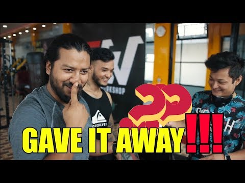 (Gave it away!!! | Workout with Sisan & Mr.Foodie | Sushant Pradhan - Duration: 11 minutes.)