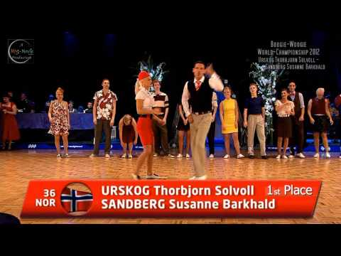 WRRC Boogie-Woogie World Championship 2012 (Place 1 - 3)