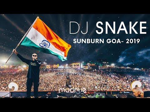 DJ SNAKE @LIVE - SUNBURN GOA 2019