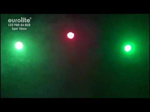 EUROLITE LED PAR-64 RGB Spot 10mm