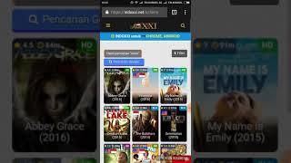 Cara Akses Film Semi di IndoXXI Menggunakan Browser / Website