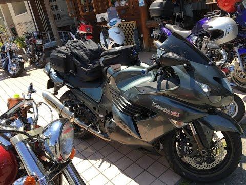 YOSHIMURAサウンドを聞け 2006 Kawasaki Ninja ZX-14R 忍者 2006 Kawasaki Ninja ZZR1400 カワサキ・ZZR1400 姫路