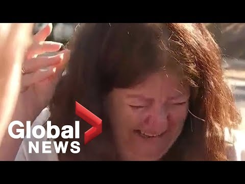 California bar shooting: Distraught mourner raises concerns over gun violence in the U.S.