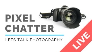 Join me for Pixel Chatter.During the live broadcast I critique your images LIVE online! Plus give you tips and tricks as well as answer your questionsBasically, we just have a bit of fun and I talk a bit of nonsense. It's not for everybody, but somebody always turns up! :-)Connect with me;Facebook: https://www.facebook.com/on3legs/Instagram: @on3legsif you want me to critique your image live online: Send 3 of your images to ben@onthreelegs.com with your name and location.Contact me: ben@onthreelegs.comMy KitBelow is a list of the gear I use. If you're keen to get any of this gear for yourself, you can by clicking on the included link. You won't pay anything extra and you'll be supporting my channel, and for that, I thank you! NikonMy Main Body - Nikon D810 - http://bit.ly/nknd810My favourite wireless shutter release - SMDV RFN-4s Remote - http://bit.ly/smdvrfn4sMy wide angle for Landscapes - Nikon 16-35mm - http://bit.ly/on3legs1635My favourite Zoom - Nikon 70-200mm - http://bit.ly/on3legs70200What I use for some of my Panoramic Images - Nikon 45mm Tilt Shift  - http://bit.ly/on3legs45My favourite lens for travelling - Nikon 28-300mm - http://bit.ly/on3legs2830077mm Hoya ND Filter - http://bit.ly/on3legsND40077mm Hoya CP Filter - http://bit.ly/on3legsCPLFujifilmMy mirrorless body is a Fuji XT1 - http://bit.ly/on3legsxt1My favourite lens for landscapes is the Fuji 10-24mm - http://bit.ly/on3legs1024Fujifilm 100-400mm - http://bit.ly/on3legs1400Fujifilm 14mm - http://bit.ly/on3legs14mmFujifilm 50-140mm - http://bit.ly/on3legs50140Fujifilm 18-135mm - http://bit.ly/on3legs18135Lee Seven5 Filter Kit - http://bit.ly/on3legsSeven5DroneDJI Mavic Pro - http://bit.ly/on3legsMavicVlogging KitCanon G7x mkii  - http://bit.ly/on3legsg7xJoby Gorillapod Focus with Ballhead X - http://bit.ly/on3legsJoby