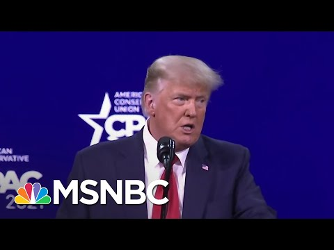 Mary Trump Reacts To Donald Trump's CPAC Speech | Ayman Mohyeldin | MSNBC
