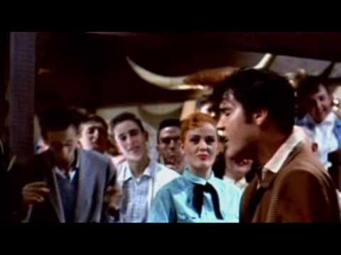 Mean woman blues-Elvis Presley all mixed up.