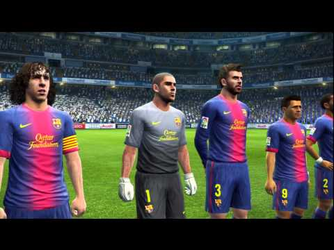 PES 2013 | Escena De Entrada | Real Madrid - Barcelona | HD | By DjMaRiiO
