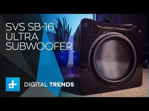 SVS SB-16 Ultra Subwoofer - Hands On Review