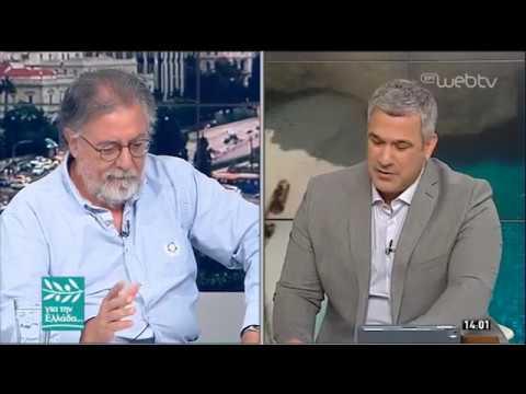 Ο Γιάννης Πανούσης στον Σπύρο Χαριτάτο | 24/07/2019 | ΕΡΤ