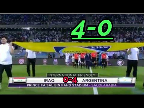 #Argentina-4-0-IRAQ, ইরাক বনাম আর্জেনটিনা 0-4 গোলে জিতলো।#emon6600