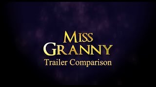 Miss Granny Trailer Comparison  Korea China Japan Vietnam Thailand Indonesia Philippines