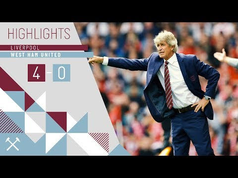 HIGHLIGHTS: LIVERPOOL 4-0 WEST HAM UNITED