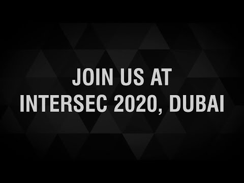 Matrix Comsec at Dubai Intersec 2020 | Security Exhibition | 19th - 21st January'20