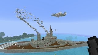 Minecraft Ship Sinkers - Epic Ships! #1