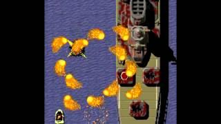 アーケード版(基板録画)飛翔鮫(Flying Shark )約4年振りにリハビリプレイ行いました。1プレイ目で1000万点達成できましたが内容はズタボロです。細かい部分は思い出しながらプレイ行い668万付近で残機ラスト1機になった時は終わった思いましたが13周目から16周目途中までノーミスで危機は回避できましたが940万付近で(17周目)レバーを握る手が(最後まで)引き攣って再び悪夢が......