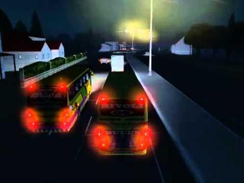 Haulin Bus Indonesia (LJ Sahara Rivoli Bulus)