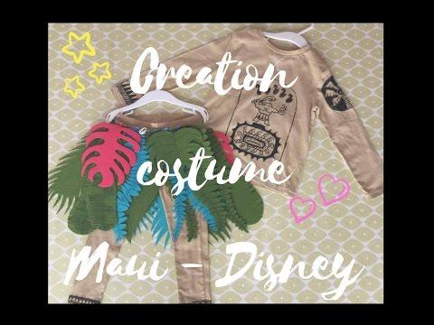 {Tuto} Création Costume Maui   Disney