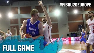 Watch Montenegro v Iceland at the FIBA U20 European Championship 2017. ▻▻ Subscribe: http://fiba.com/subYT Click here for...