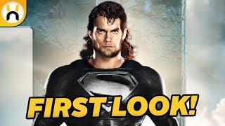 Video Superman's Black Suit FIRST LOOK for Justice League MP3, 3GP, MP4, WEBM, AVI, FLV Juni 2018
