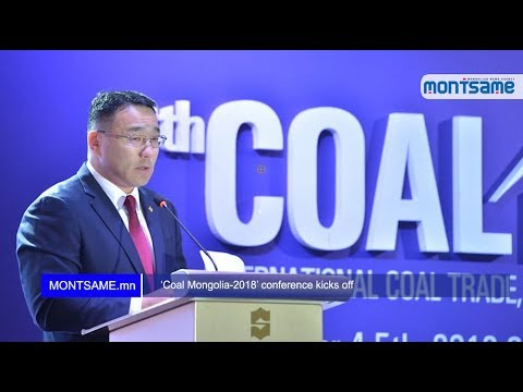 'Coal Mongolia-2018' conference kicks off