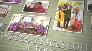 GREAT LAKES COLLEGE OF TORONTO SCHOOL VIDEO - ENGLISH