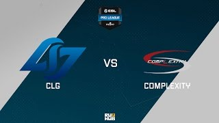 CLG vs coL, game 1