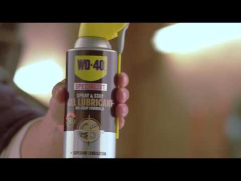 How to Lubricate Vertical Surfaces