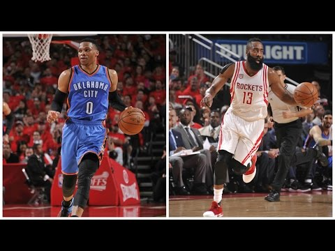 Westbrook vs Harden in Game 5 Duel in Houston